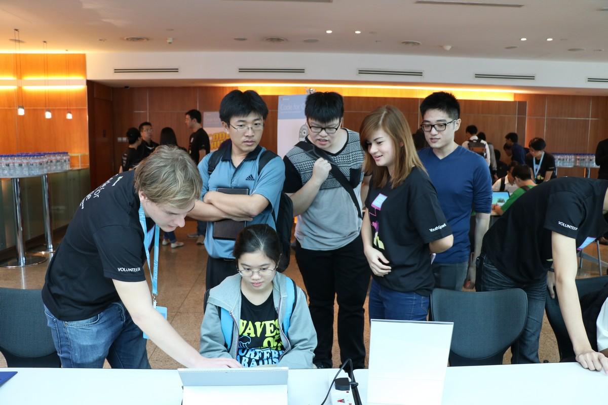 MSP Volunteers at Code for Change