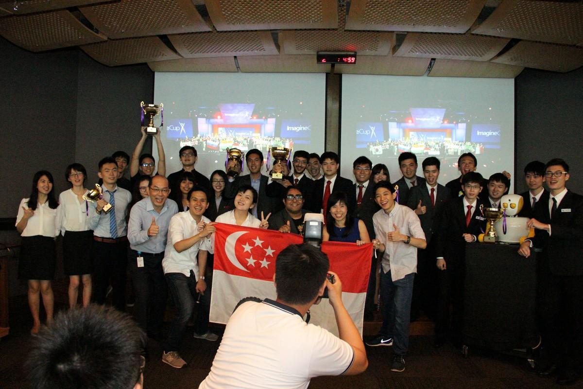 Imagine Cup Singapore Finals 2016